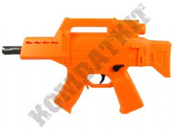 HB104 G36 Style Mini Electric Airsoft Machine Gun Orange and Black